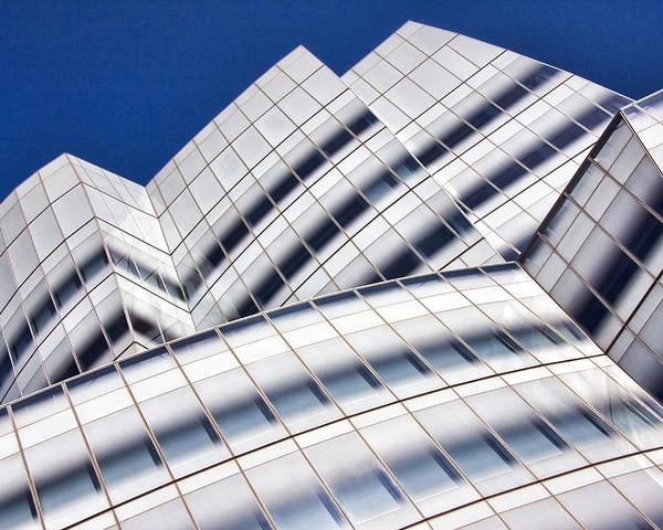 Architecture Poster featuring the photograph IAC Building by June Marie Sobrito