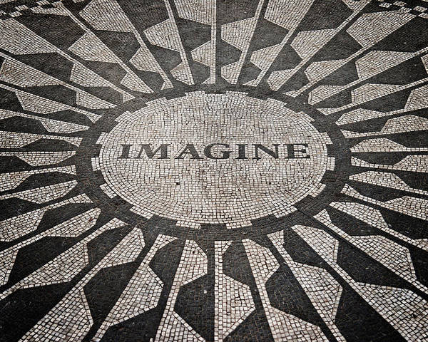 New York City Poster featuring the photograph Imagine by Benjamin Matthijs