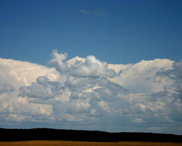 Cloud\ Poster featuring the photograph In Sight Of Hevan by Kevin Dunham