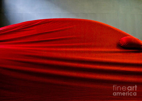 Red Poster featuring the photograph In The Red by Vadim Grabbe