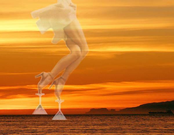 Erotic Poster featuring the photograph In Venus Veritas by Viktor Savchenko