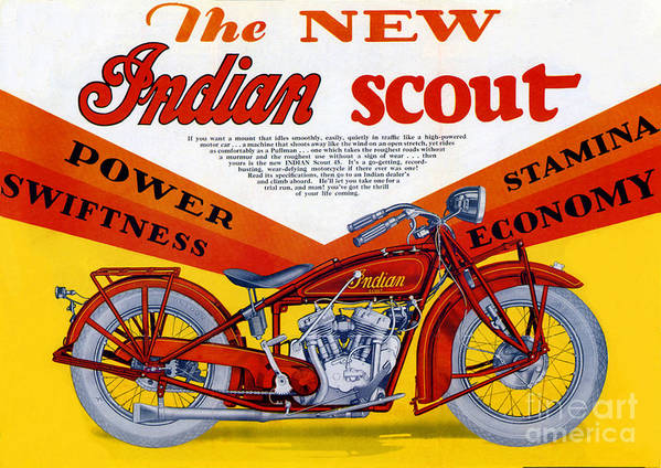 Indian Poster featuring the digital art Indian Scout by Steven Parker