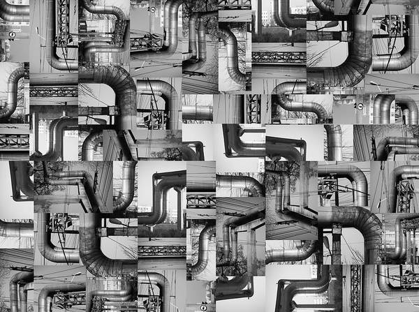 Pipes Poster featuring the photograph Intestins by Gabriela Insuratelu