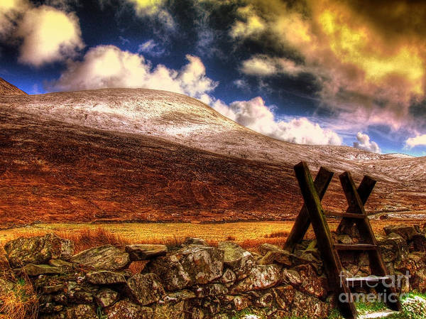 Mourne Poster featuring the photograph Into The Wild by Kim Shatwell-Irishphotographer