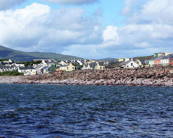 Ireland Poster featuring the photograph Irish Seaside Village, Co Kerry by Aidan Moran
