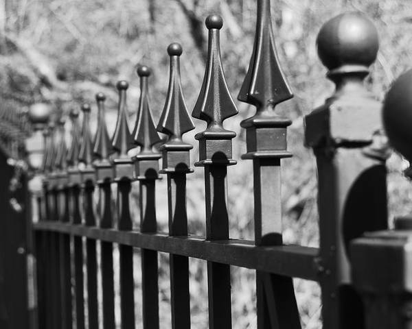 Poster featuring the photograph Iron Gate by Jessica Roth