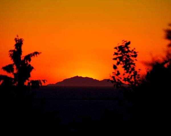 Island Poster featuring the photograph Island Sunset by Paul Kloschinsky