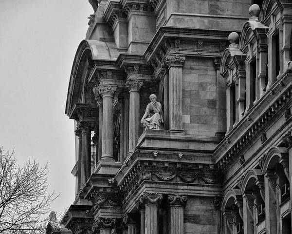 It's In The Details - Philadelphia City Hall Poster featuring the photograph It's In The Details - Philadelphia City Hall by Bill Cannon
