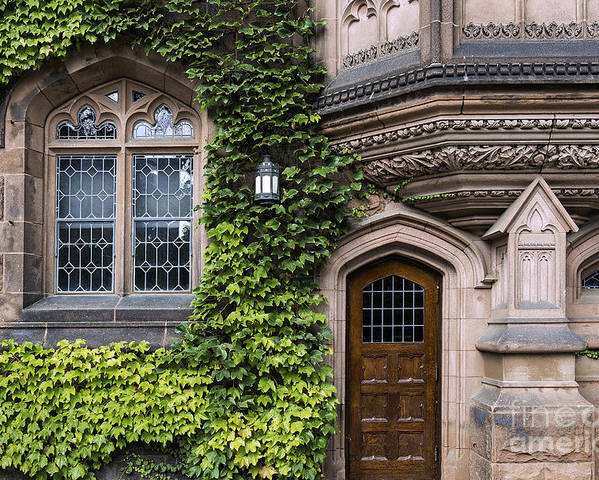 Ivy League Poster featuring the photograph Ivy League Princeton by John Greim