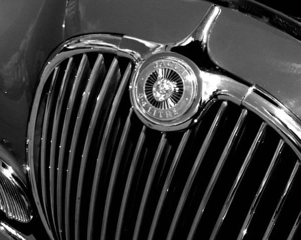 Car Poster featuring the photograph Jaguar by Audrey Venute