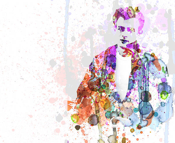 James Dean Poster featuring the painting James Dean by Naxart Studio