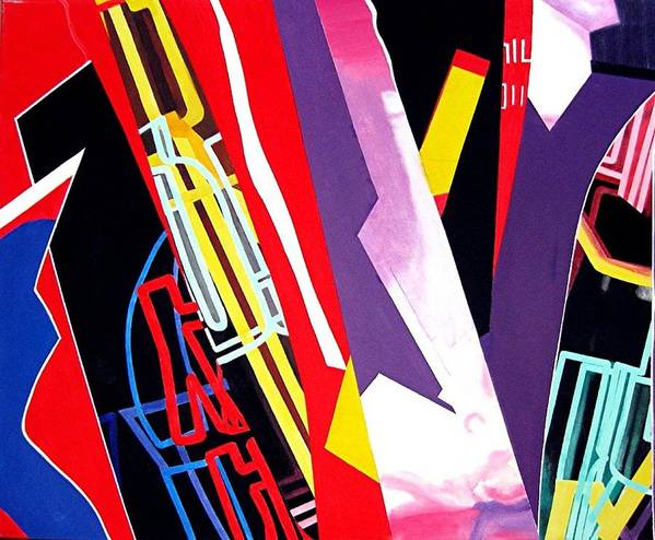 Jazz Poster featuring the painting Jazz by Barron Holland