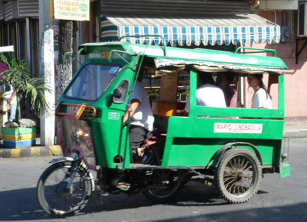 Jeepney Poster featuring the photograph Jeepney 03 by Mike Holloway