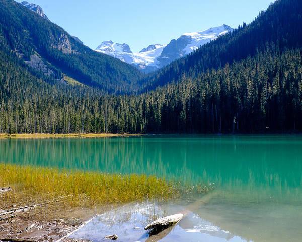 British Columbia Poster featuring the photograph Joffre Lake Horizontal by John McArthur