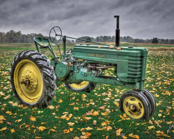John Deere Tractors Poster featuring the photograph John Deere 2 by Williams-Cairns Photography LLC