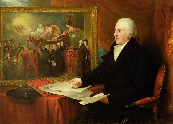 John Poster featuring the painting John Eardley Wilmot by Benjamin West