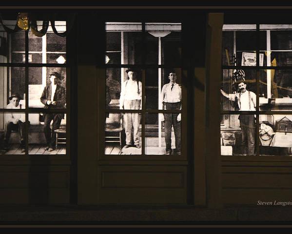 Jonesborough Poster featuring the photograph Jonesborough Tennessee 15 by Steven Lebron Langston