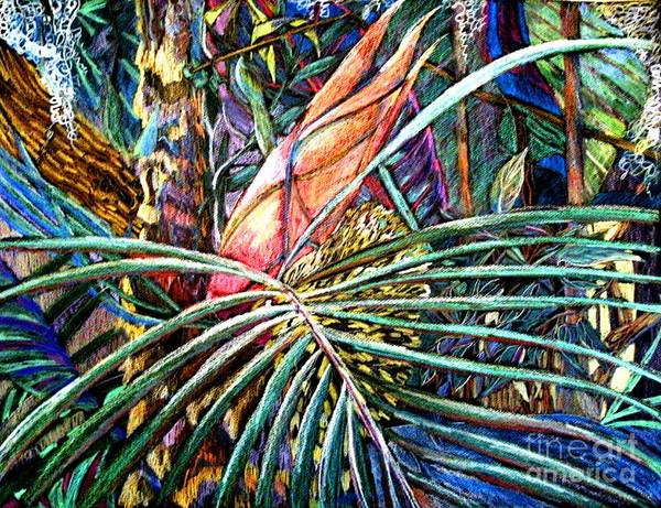 Palm Poster featuring the painting Jungle Fever by Mindy Newman