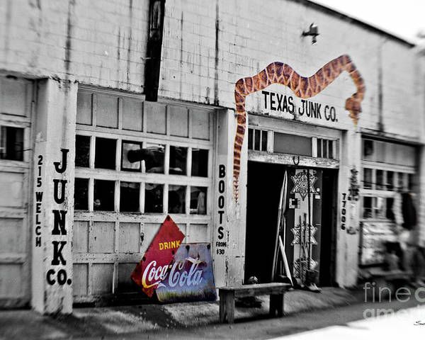 Junk Poster featuring the photograph Junk Company by Scott Pellegrin