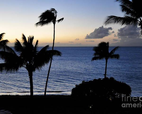 Maui Poster featuring the photograph Ka'anapali Beach Maui by Rosy Kueng