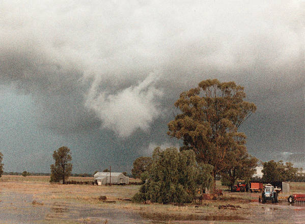Vicki Ferrari Photography Poster featuring the photograph Kerula Storm by Vicki Ferrari