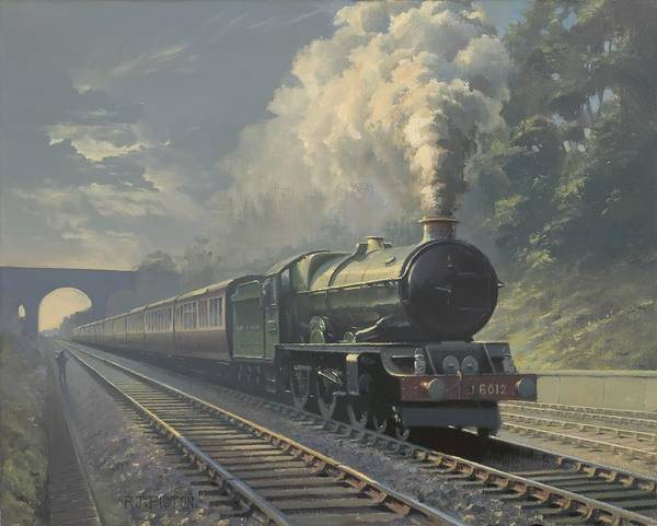 Steam Poster featuring the painting King Edward VI by Richard Picton