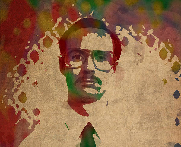 Kip From Napoleon Dynamite Watercolor Portrait Poster By Design Turnpike