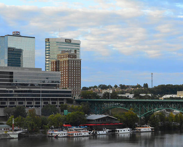 Landscape Poster featuring the photograph Knoxville by Alyssa Faulkner