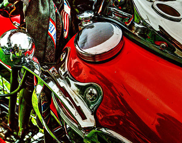 Knucklehead Poster featuring the photograph Knucklehead 037 by Jeff Stallard