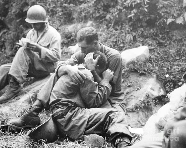 1950 Poster featuring the photograph Korean War, 1950 by Granger