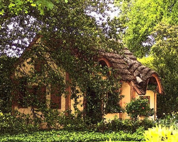 Cottage Poster featuring the photograph La Maison by Debbi Granruth