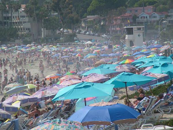 Laguna Beach Poster featuring the photograph Laguna In Full Swing by John Loyd Rushing