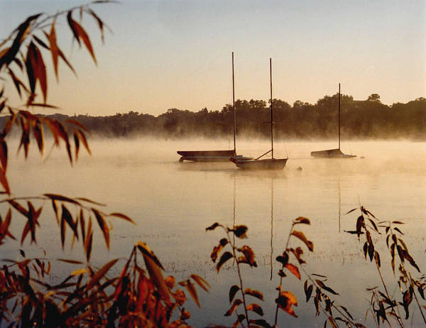 Landscape Poster featuring the photograph Lake Calhoun by Kathy Schumann
