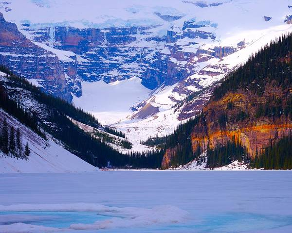 Lake Louise Poster featuring the photograph Lake Louise by Paul Kloschinsky