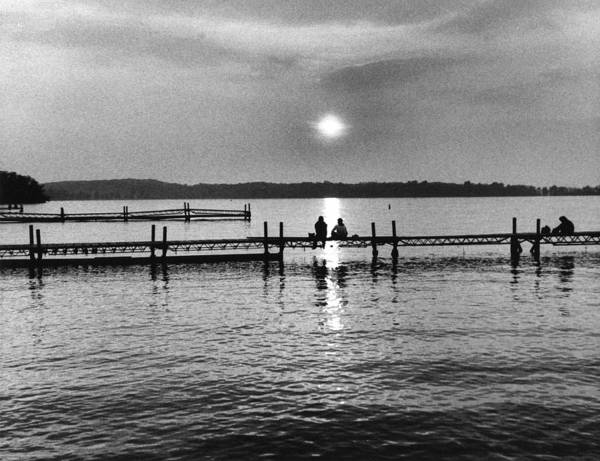 Evening Poster featuring the photograph Lake Mendota In Madison by Arvind Garg