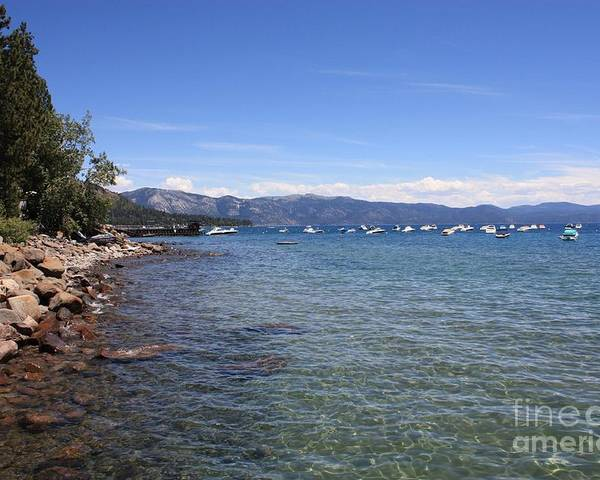 Lake Tahoe Poster featuring the photograph Lake Tahoe by Carol Groenen