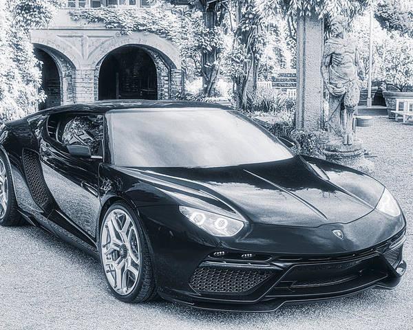 Lamborghini Asterion Lpi 910,4 Concept Poster