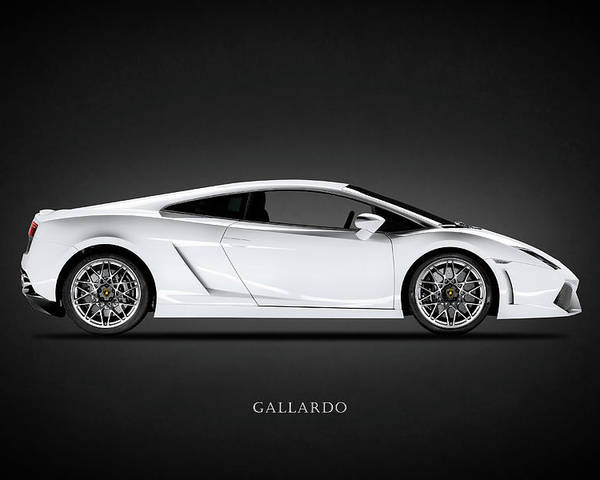Lamborghini Gallardo Poster By Mark Rogan