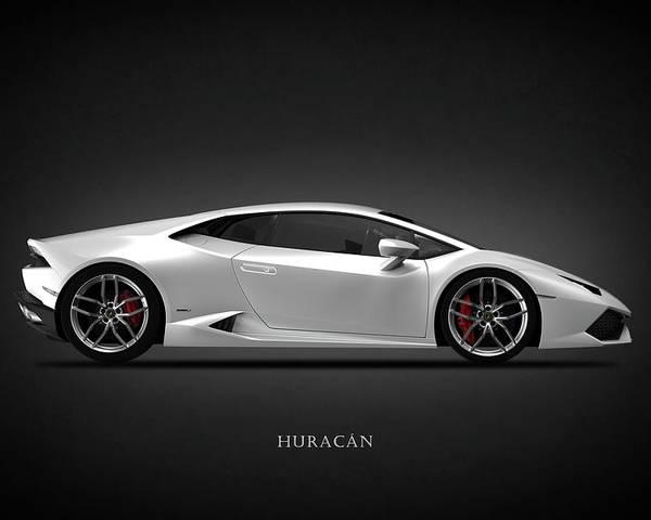 Lamborghini Huracan Print Poster or Canvas