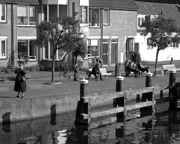 Leiden Poster featuring the photograph Leiden by Eline Van Nes