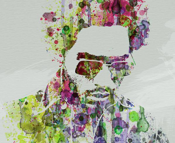 Lenny Kravitz Poster featuring the painting Lenny Kravitz 2 by Naxart Studio