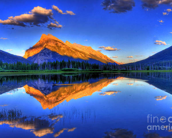 Mountain Poster featuring the photograph Life's Reflections by Scott Mahon