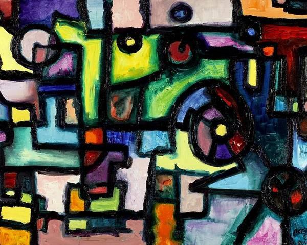 Clockwork Poster featuring the painting Like Clockwork by Regina Valluzzi