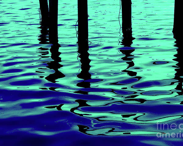 Water Poster featuring the photograph Liquid Cool by Peggy Starks