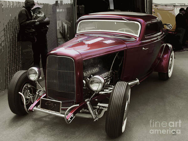 Deuce Poster featuring the photograph Little Deuce Coupe by Curt Johnson