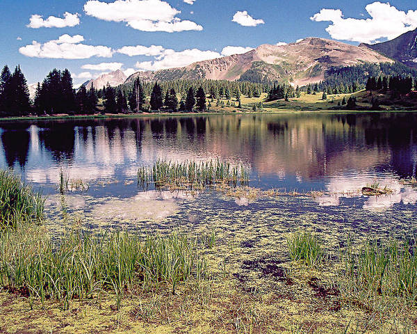 Lake Poster featuring the photograph Little Molas Lake Colorado by Greg Taylor