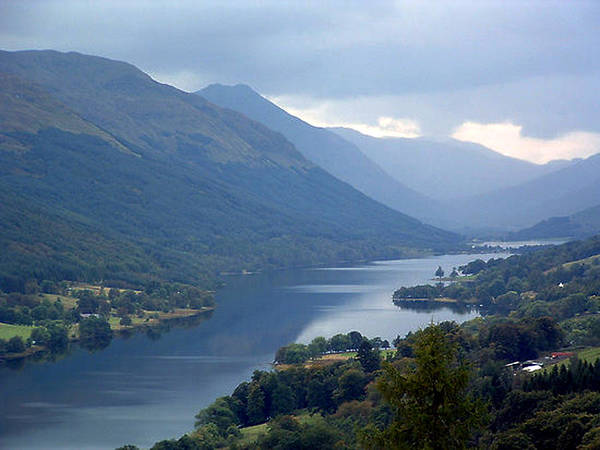 Loch Poster featuring the photograph Loch Voil by Paul Boast