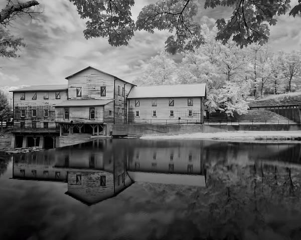 Loretta Lynn's Grit Mill. Grit Mill Poster featuring the photograph Loretta Lynn's Gritt Mill by Bob Colvin