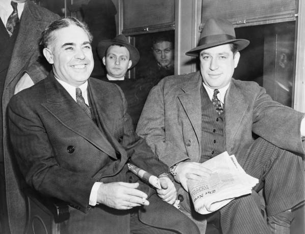 History Poster featuring the photograph Louis Capone 1896-1944 And Emanuel by Everett