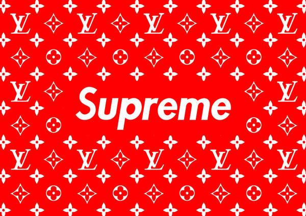 c2a7c7c4ed Louis Vuitton X Supreme Poster by Jae L